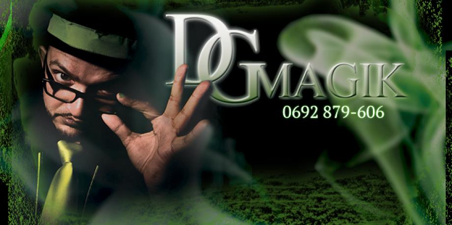 David GABRIEL magicien pour anniversaire d'enfants Réunion 974